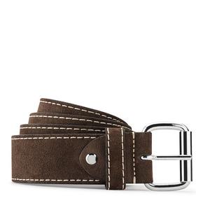 Cintura in suede bata, marrone, 953-4106 - 13