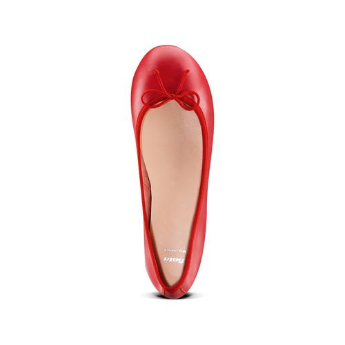 Ballerine da donna bata, rosso, 524-5144 - 17