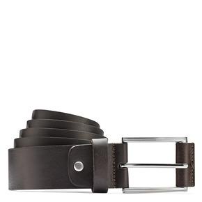 Cintura in pelle di vitello bata, marrone, 954-4833 - 13