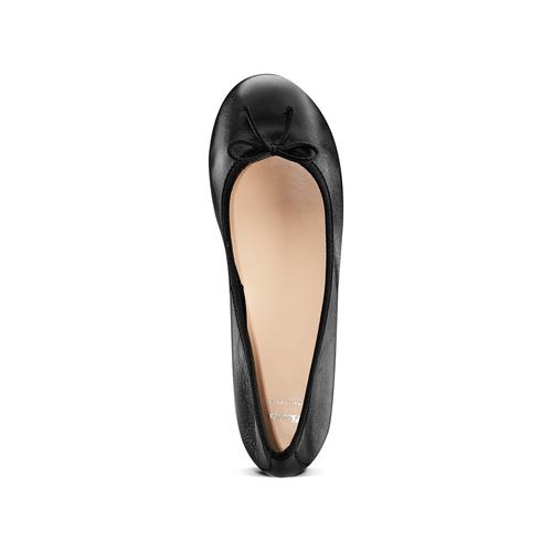 Ballerine da donna bata, nero, 524-6144 - 17