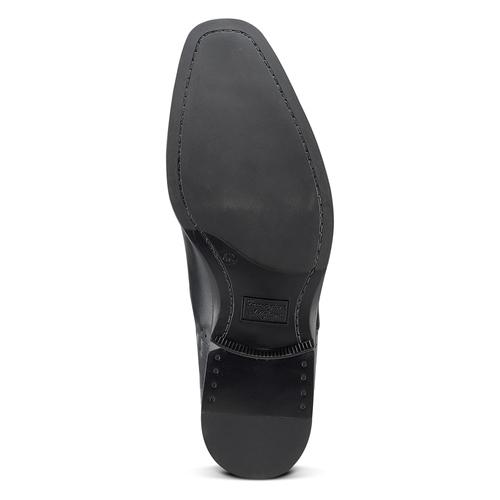Scarpe eleganti in pelle bata, nero, 824-6845 - 17