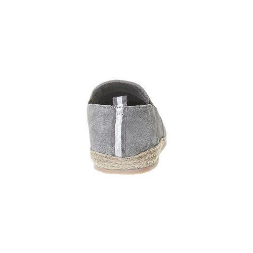 Slip-on da uomo in pelle bata, grigio, 853-2216 - 17