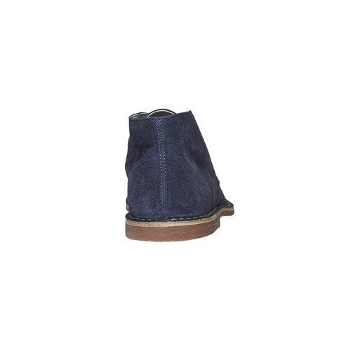 Scarpe scamosciate in stile Desert bata, blu, 843-9267 - 17