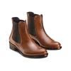 Chelsea Boots in pelle, marrone, 594-4448 - 16