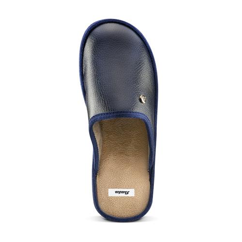 Pantofole blu da uomo bata, blu, 871-9304 - 15