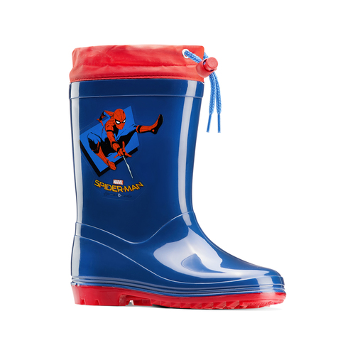 Stivali da pioggia Spiderman spiderman, blu, 392-9190 - 13