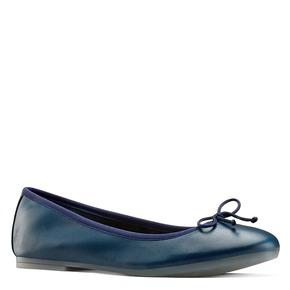 Ballerine da donna bata, blu, 524-9144 - 13