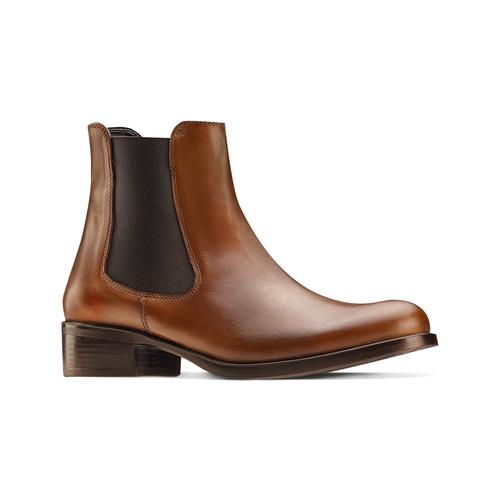Chelsea Boots in pelle, marrone, 594-4448 - 13