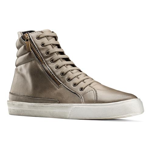 Sneakers stivaletto north-star, beige, 841-2503 - 13