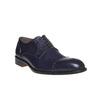 Scarpe basse in pelle di colore blu bata-the-shoemaker, blu, 824-9192 - 13