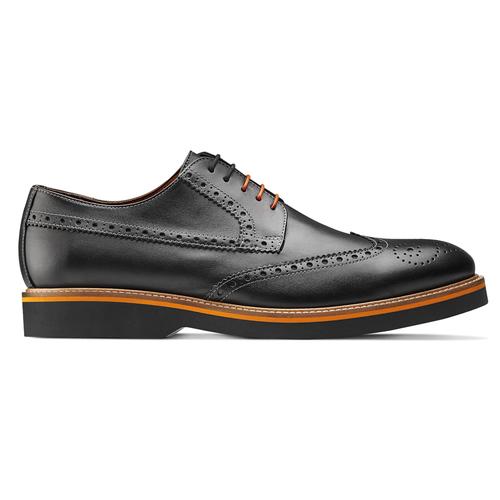Scarpe Oxford di pelle bata-the-shoemaker, nero, 824-6190 - 26
