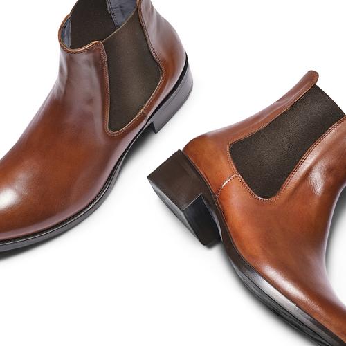 Chelsea Boots in pelle, marrone, 594-4448 - 26