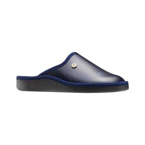 Pantofole blu da uomo bata, blu, 871-9304 - 13