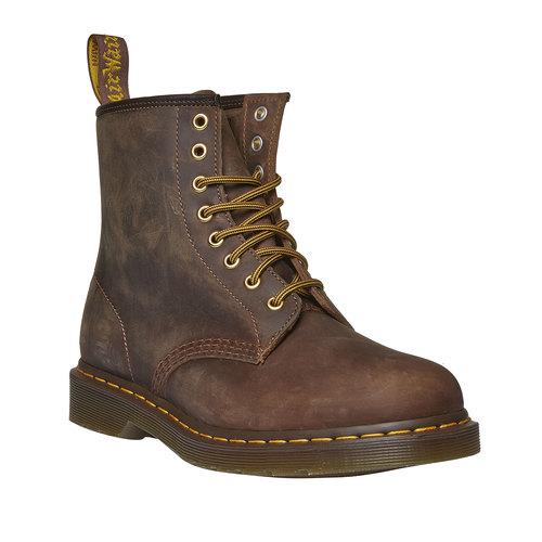 Scarpe di pelle Dr. Martens alla caviglia dr-martens, marrone, 894-2290 - 13