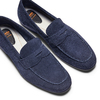 Mocassini in suede flexible, blu, 853-9186 - 26