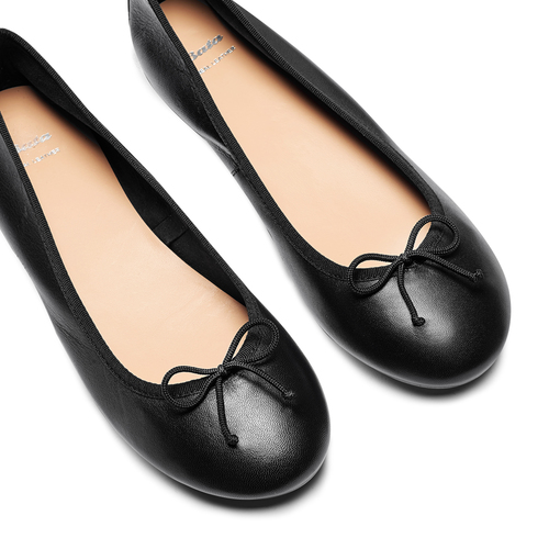 Ballerine da donna bata, nero, 524-6144 - 26