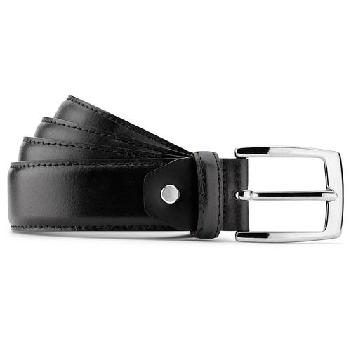 Cintura in vera pelle bata, nero, 954-6170 - 13