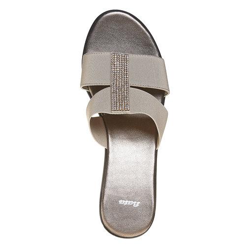 Slip-on con plateau bata, beige, 779-8100 - 19