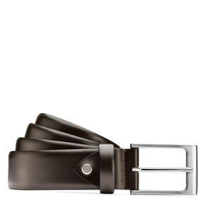 Cintura da uomo in pelle bata, marrone, 954-4819 - 13
