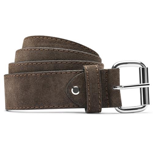 Cintura marrone da uomo bata, marrone, 953-8106 - 13