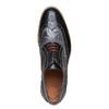 Oxford di pelle con suola appariscente bata-the-shoemaker, grigio, 824-2132 - 19