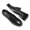 Penny loafer in pelle bata, nero, 814-6128 - 19