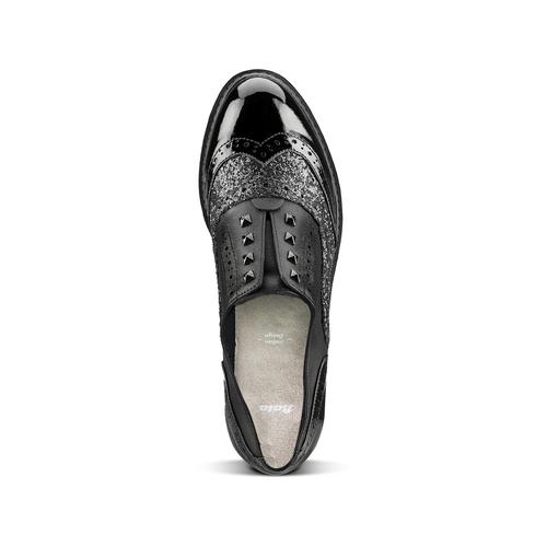 Scarpe basse da donna bata, nero, 511-6240 - 17