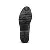 Scarpe basse da donna bata, nero, 511-6240 - 19