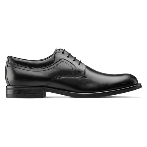 Scarpe stringate in pelle bata, nero, 824-6460 - 26