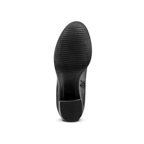 Stivali Bata in vera pelle bata, nero, 694-6361 - 17