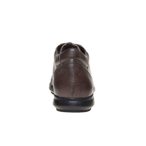 Sneakers da uomo con suola strutturata. flexible, marrone, 844-2205 - 17
