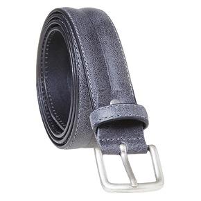 Cintura da uomo in pelle bata, grigio, 954-2128 - 13