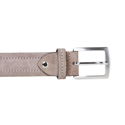 Cintura in pelle beige bata, beige, 953-2104 - 26