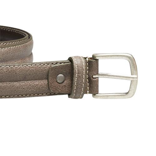 Cintura da uomo in pelle bata, marrone, 954-8128 - 26