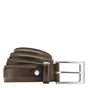 Cintura in pelle bata, marrone, 954-4828 - 13