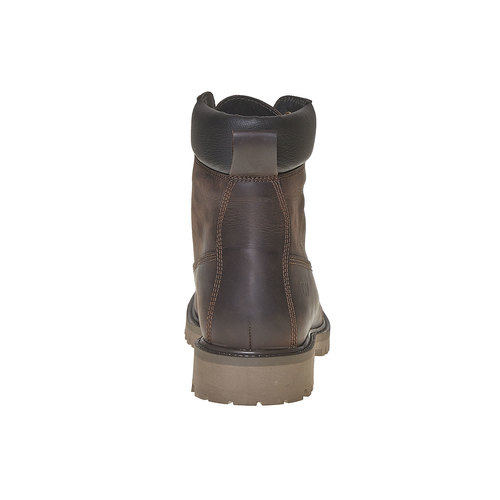 Scarpe invernali in pelle da uomo weinbrenner, marrone, 896-4705 - 17