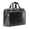 Business bag in pelle bata, nero, 964-6106 - 13