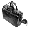 Business bag in pelle bata, nero, 964-6106 - 17