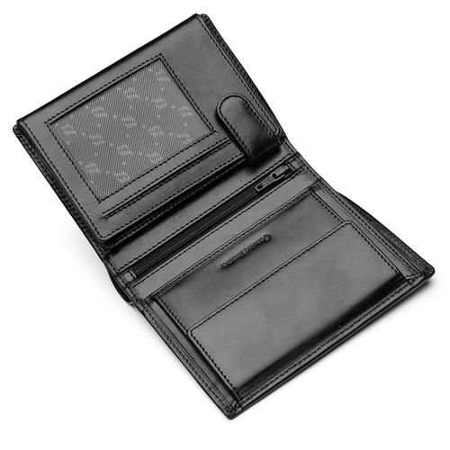 Portafoglio compatto da uomo bata, nero, 944-6121 - 15