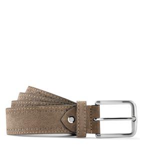 Cintura in pelle scamosciata bata, beige, 953-8113 - 13