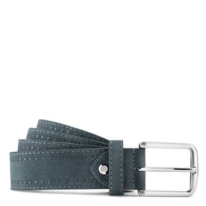 Cintura in pelle scamosciata bata, blu, 953-9113 - 13