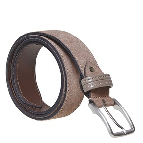 Cintura da uomo in pelle bata, marrone, 953-8807 - 13
