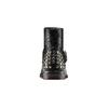Stivaletti in pelle con borchie bata, nero, 591-6112 - 15