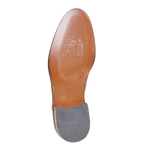 Scarpe basse di pelle in stile Derby bata-the-shoemaker, marrone, 824-3296 - 26