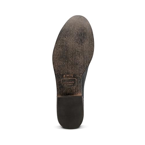 Scarpe basse in vera pelle bata, nero, 514-6267 - 19