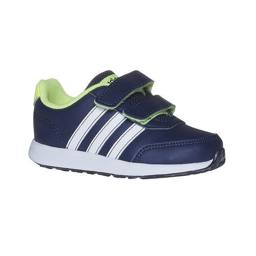 Sneakers da bambino con chiusure a strappo adidas, blu, 109-9163 - 13