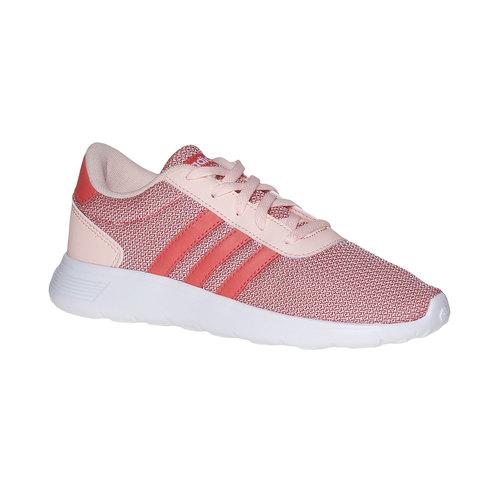 Sneakers rosa da bambina adidas, rosa, 409-5335 - 13