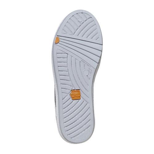 Sneakers da bambino sopra la caviglia flexible, grigio, 311-2245 - 26