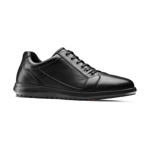 Sneakers Flexible in vera pelle flexible, nero, 844-6709 - 13