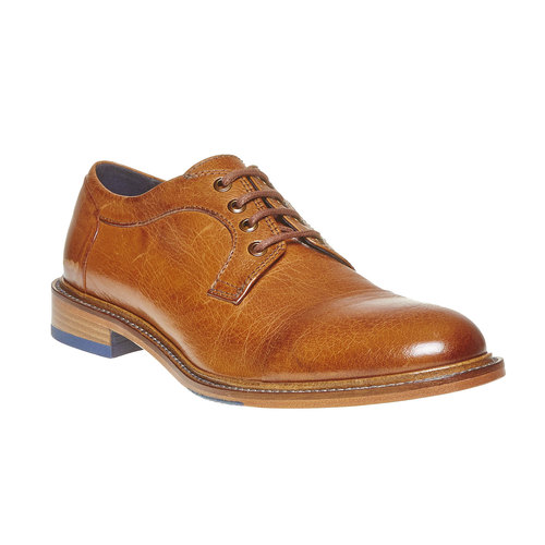 Scarpe basse di pelle da uomo bata-the-shoemaker, marrone, 824-3293 - 13